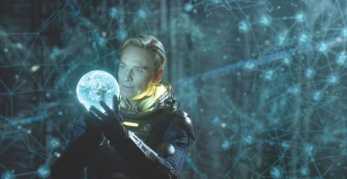 theavc: While [Ridley] Scott has said [Prometheus] began as a prequel to his 1979 classic Alien, then evolved into a stand-alone film, it still feels like a prequel, given how hard it works to place all the Alien pieces on the board by the end of the story. Even more so, though, it feels like an Alien remake for a new era of filmmaking. So many of the characters, plot beats, and design elements are familiar from Alien, it's actively distracting. But where Alien was grimy and claustrophobic, Prometheus is polished, expansive, and at times breathtakingly beautiful.  Ridley Scott suffers from a bit of George Lucas syndrome with Prometheus.