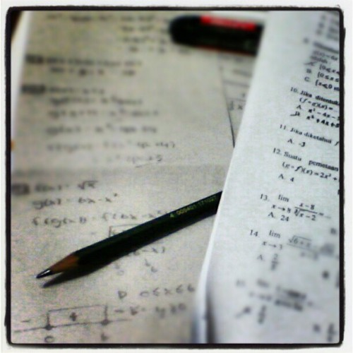 0 <= X <= 6, dan Y >= 0 (Taken with instagram)