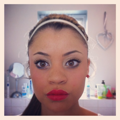 Jubilee Make up (red,white and blue)