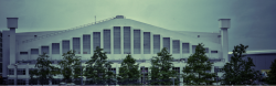 Wembley Arena - in 1948 the arena had a swimming pool with a boxing ring on a walkway above it. This year it will host Badminton and Rhythmic Gymnastics Part of the series: London's Olympic History