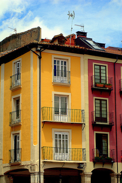 Colorful Façade by Carlos (CR 76) on Flickr.