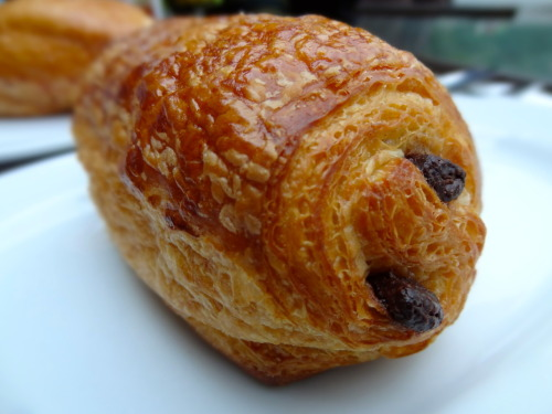 Chocolate Croissant @ Delifrance, The Peak in Hong Kong