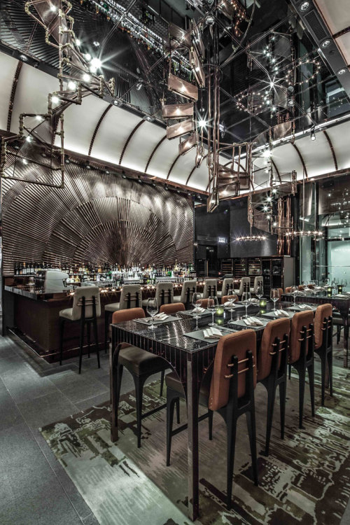 creatio-ex-materia:  AMMO Restaurant by Joyce Wang in Hong Kong