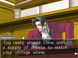 pastellieria:  Ah, it's the snarky-ass Miles Edgeworth we all know and love.