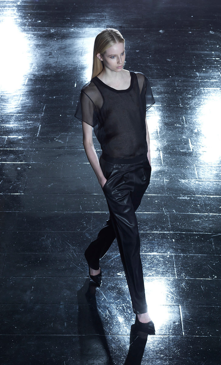 vogue:  Theyskens' Theory Resort 2013 Photo: Courtesy of Theyskens' THeoryVisit Vogue.com for the full collection and review.