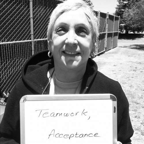 Susan. 68. Retired. Twocentsproject.tumblr.com #alc11 #aidslifecycle (Taken with instagram)