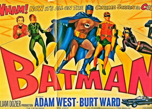 updownsmilefrown:  British Batman poster, 1966