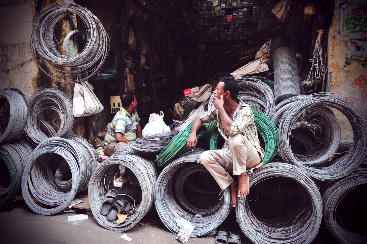 Cable man in Kolkata