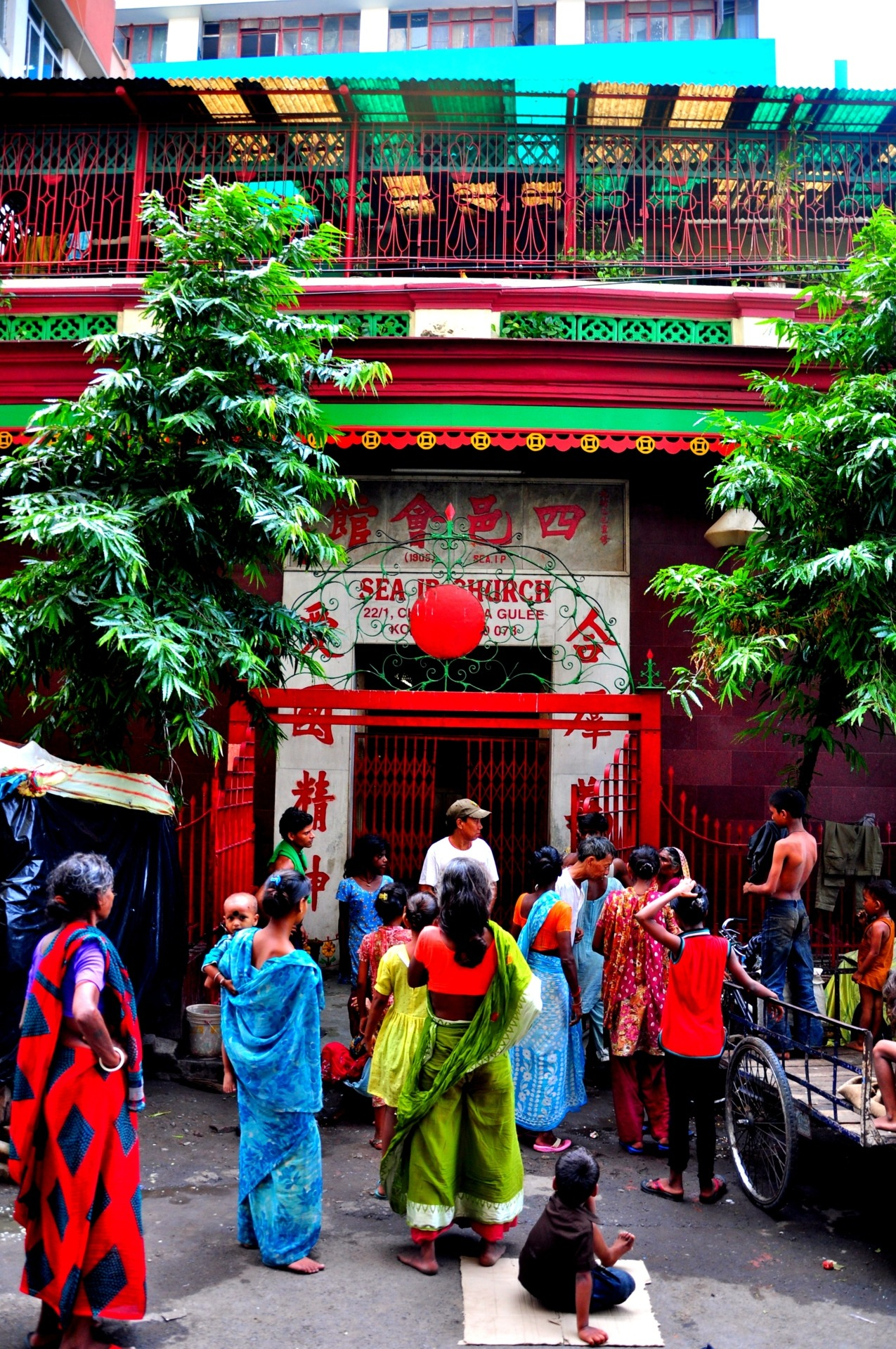 Chinatown church in Kolkata, India