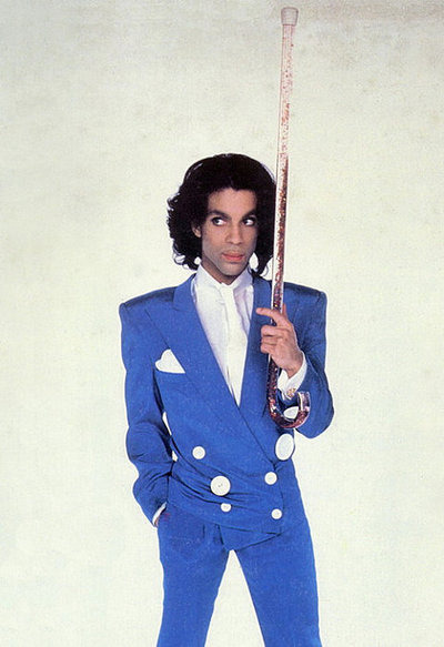 Happy 54th Birthday Prince!  Son of a Jazz pianist and singer, he himself is a singer, songwriter, musician, producer, actor and member of the Rock and Roll Hall of Fame as of 2004.  With 10 platinum albums and thirty top-40 singles he is someone we all know, especially with thanks to his flamboyant stage presence. Although his numerous stage names makes the situation slightly confusing… Jamie Starr? Joey Coco?