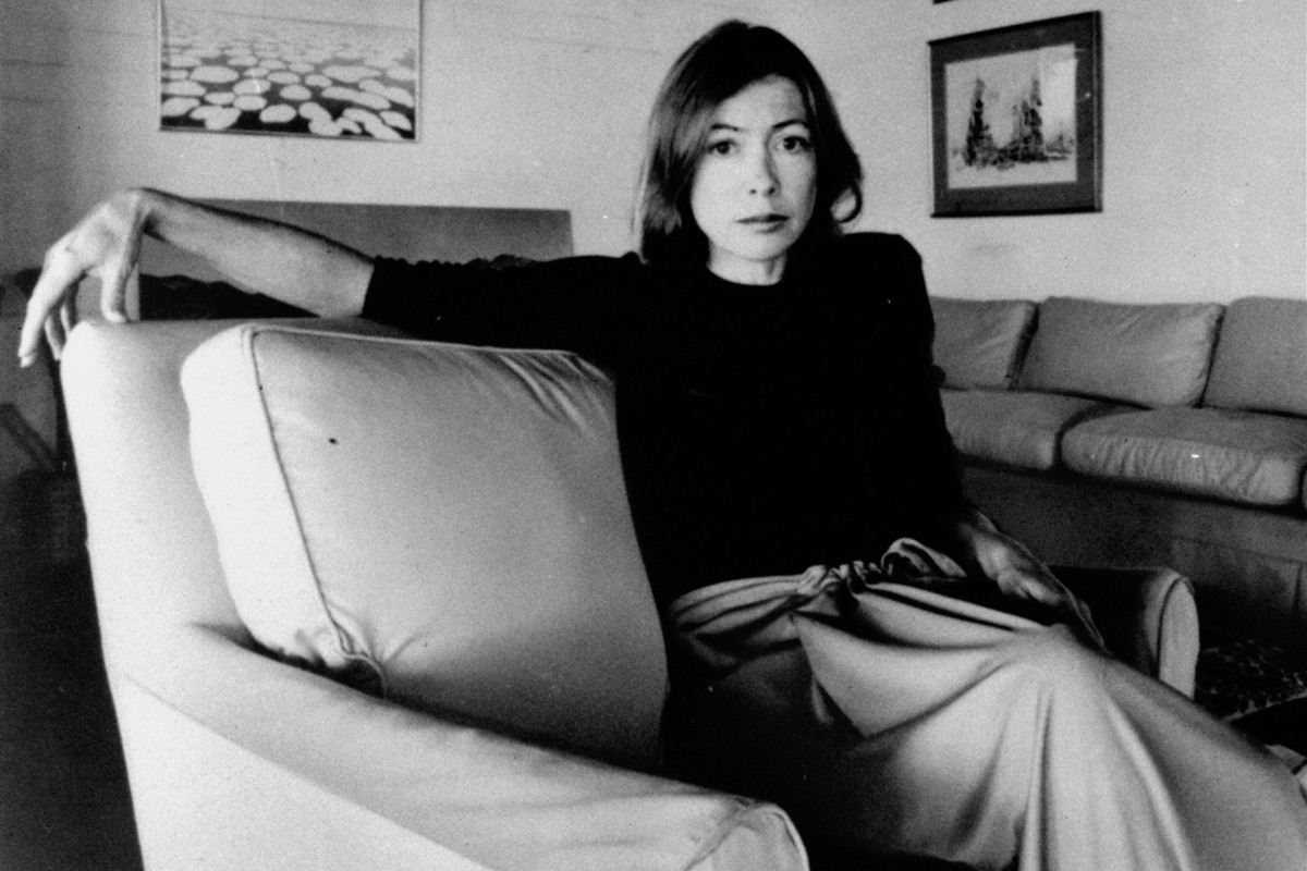 havingacokewithyouis:   Joan Didion  This woman has written some interesting things. I must find out more about her!