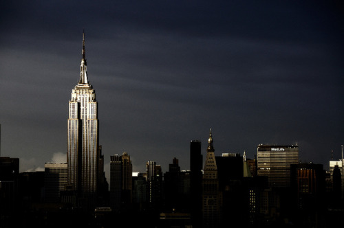 20101001-5463 on Flickr. Empire State Building, New York City @ dusk (uncropped version)