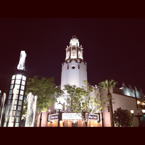 The beautiful Carthay Circle theater. Love love love.