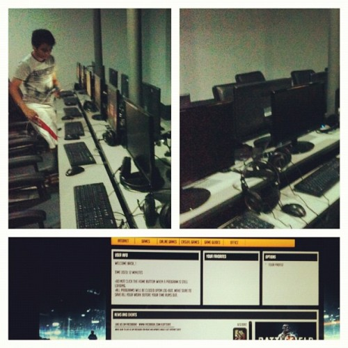 Gaming at iLoft (Taken with Instagram at iLoft Internet Cafe)