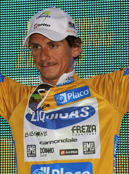 2008 Vuelta a España, Stage 1: The (in)famous and notorious Pippostache! (Credit: Roberto Bettini via Cyclingnews.com)