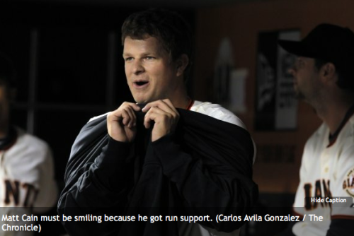 Omfg, the caption. Let's give him that same reason to smile today. Happy Cain Day.