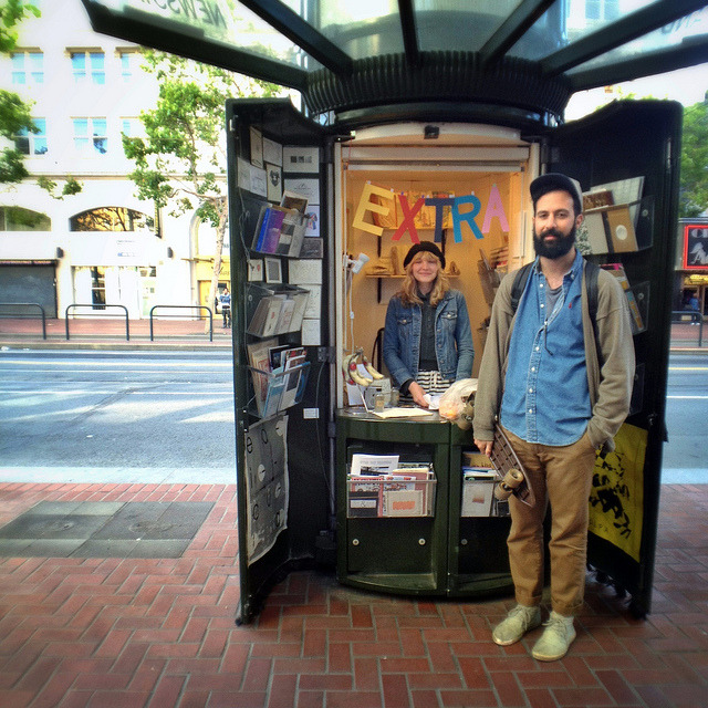 Edicola, A Pop-Up Shop in a Former San Francisco Newspaper Stand