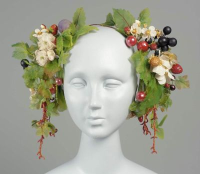 French-made headdress, MFA Boston, mid-1800s