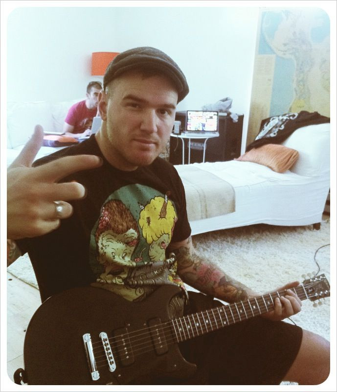 fuckyeahpop-punk:  What's Eating Gilbert? (Chad Gilbert of New Found Glory) will release a 5 track EP titled Cheap Shots, on July 31st via Bridge Nine Records.