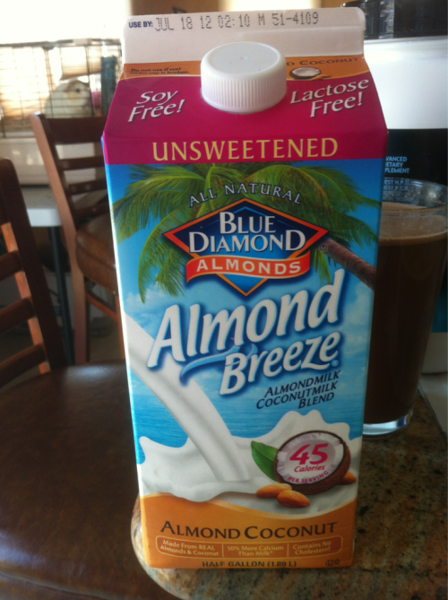 Has anyone tried coconut almond milk? My mom accidently bought it thinking it was regular and IT'S SO GOOD.  Just thought I'd share