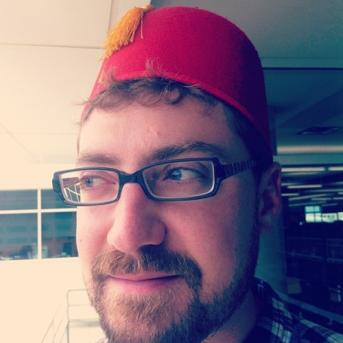 #wenzelfez, month 2. #fez (Taken with Instagram at Denver Post Newsroom)