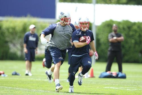 (via Patriots Organized Team Activities - June 7, 2012)