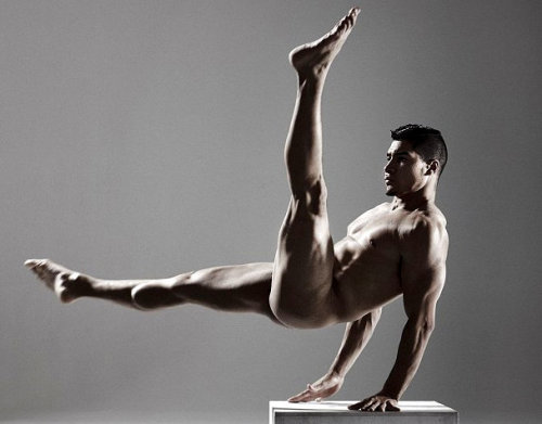 United Kingdom: Olympian Gymnast Louis Smith Gets Naked For Cosmo For Male Cancer Awareness
