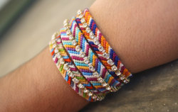 Rhinestone Friendship Bracelet - $20.00