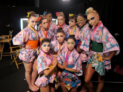 top 10 girls backstage :)