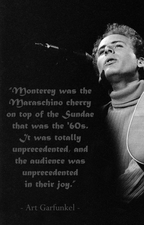 Art on the sweetness of the art and audience at Monterey International Pop Festival, 1967. (Photo Credit: Elaine Mayes)