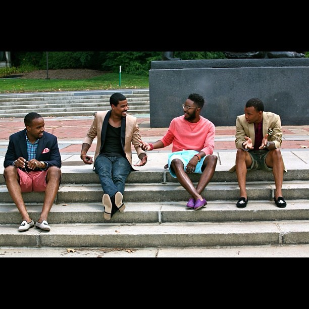 "#TBT Shot from "" A King's Theme: Men's slippers"" with @Munchy_Montana @1jamele_ran @flytimesofry @kingsruletogether #fashion #style #mensfashion #stubbsandwooton #polo #marcjacob #slippers #KRT  (Taken with Instagram)"