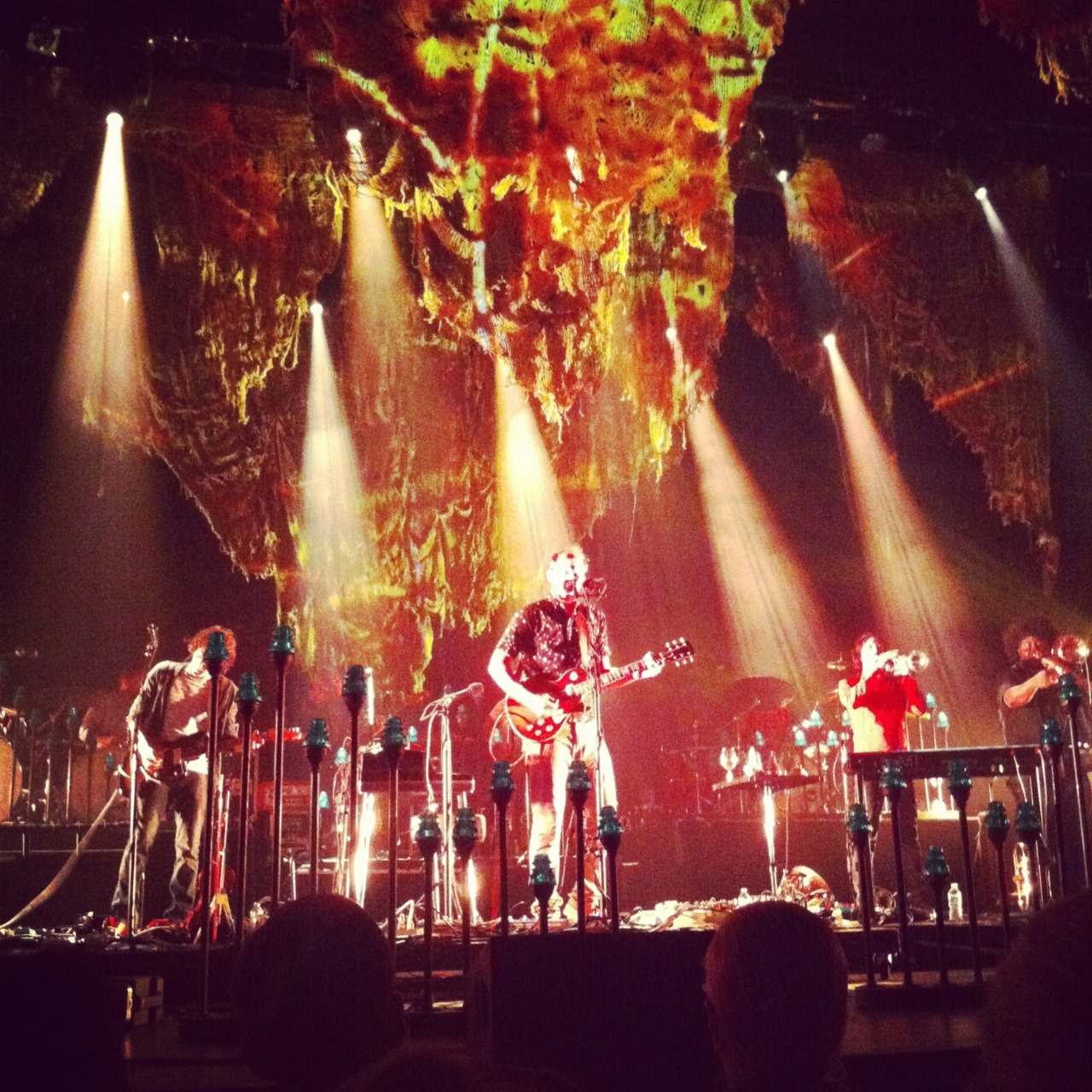 Bon Iver were awesome last night. I'm on a roll lately with awesome acts. Awesome.