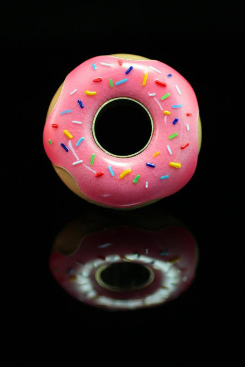 npr:  laughingsquid:  Pink Glazed Sprinkled Doughnut Engagement Ring  If you like it, then you should have put a doughnut on it. It's really that simple. —Daisy   TO MY FUTURE HUSBAND: GET ME THIS!