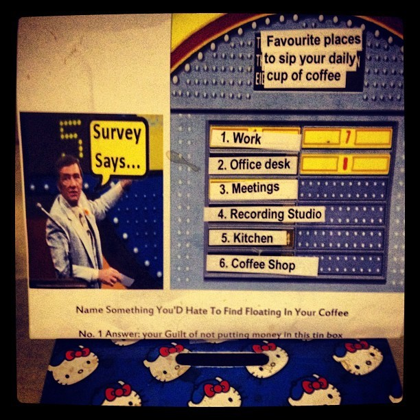 #SupportKCRWcoffee  (Taken with Instagram)