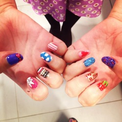 wahnails:  Mixing it up!