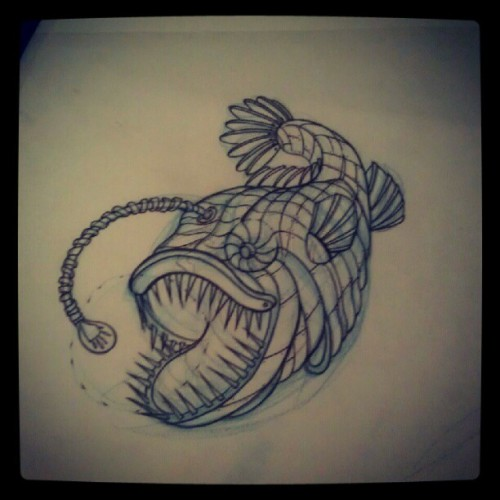 #fish #tattoos #drawing #savannah #butcher  (Taken with Instagram)
