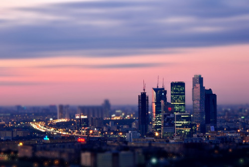 Dusk In The Toy City (by Serge Freeman)  Moscow, Russia
