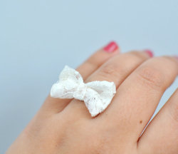 Lace Bow Ring - $14.99
