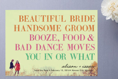 Love this #wedding invite!!