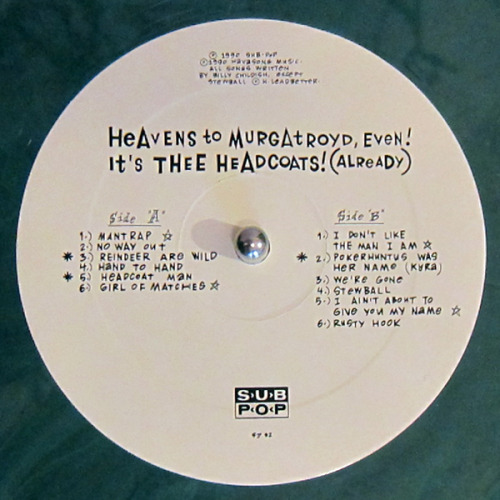 Currently Playing : Heavens To Murgatroyd Even! Its Thee Headocoats! (Already)