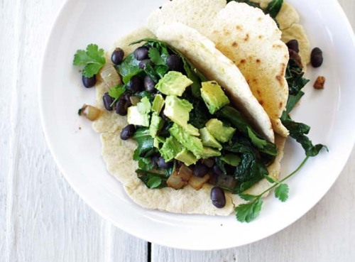 foodopia:  beans and greens burritos: recipe here