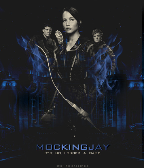 mockingfire:  MOCKINGJAY - This is war.