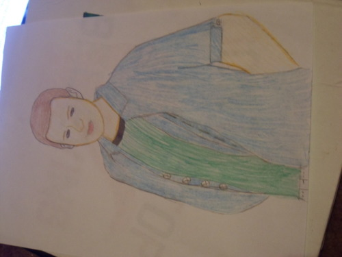 My drawing of Mr Cory Monteith as Finn Hudson!