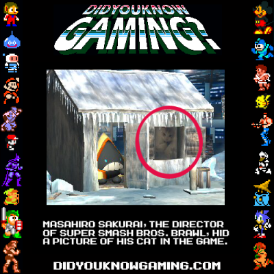 didyouknowgaming:  Super Smash Bros. Brawl.