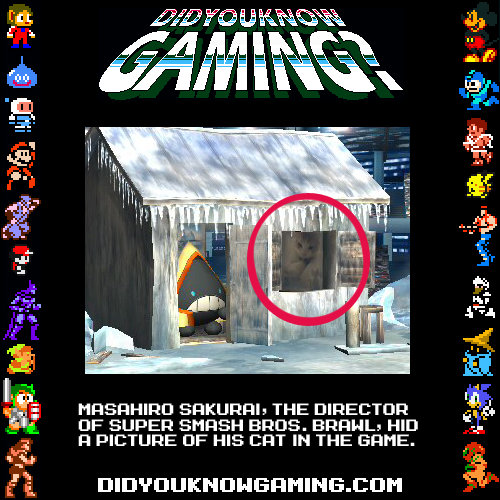 didyouknowgaming:  Super Smash Bros. Brawl.  Oh shit I did not know that :O