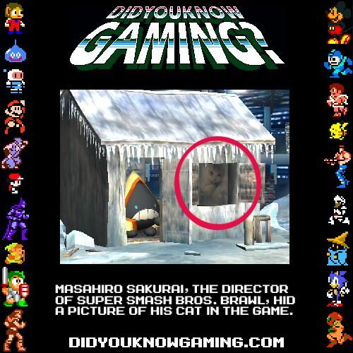 didyouknowgaming:Super Smash Bros. Brawl.