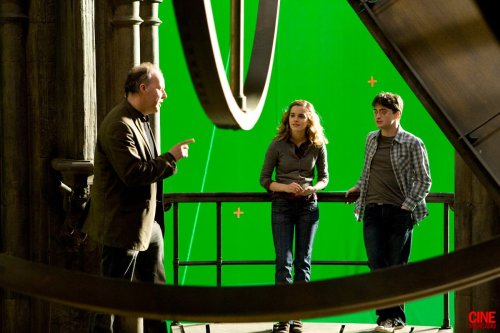 hpcast:   Harry Potter and the Half-Blood Prince  Behind the Scene