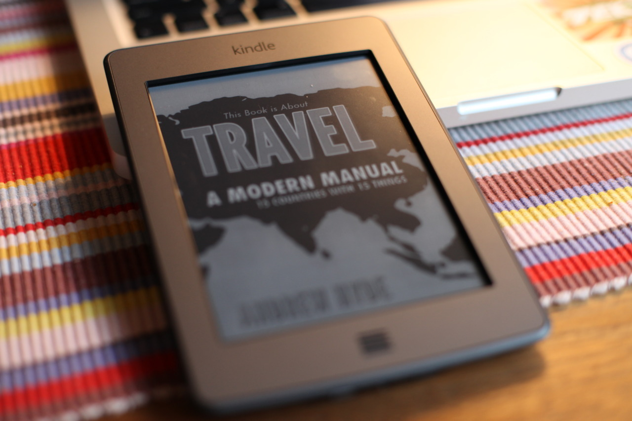 This Book is About Travel by a friend of mine, Andrew Hyde. You should be reading it. It's about travel.