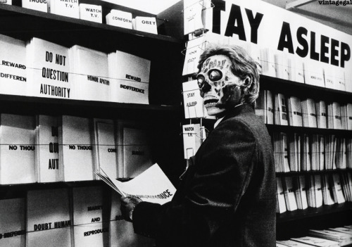 Subliminal messages in They Live (1988)