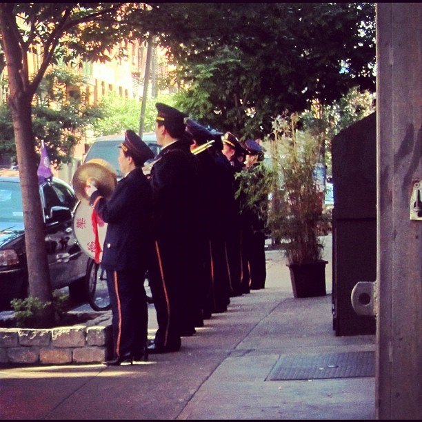 chinatown, new york, funeral for a man of consequence, part one. (Taken with Instagram)